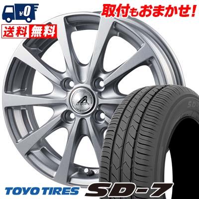 185/65R15 88S TOYO TIRES トーヨー タイヤ SD-7 エスディーセブン AZ SPORTS EX10 AZスポーツ EX10 サマータイヤホイール4本セット