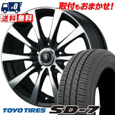 215/60R16 95H TOYO TIRES トーヨー タイヤ SD-7 エスディーセブン EuroSpeed BL10 ユーロスピード BL10 サマータイヤホイール4本セット