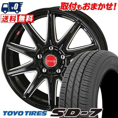 195/65R15 91H TOYO TIRES トーヨー タイヤ SD-7 エスディーセブン RIVAZZA CORSE リヴァッツァ コルセ サマータイヤホイール4本セット