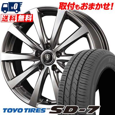 215/45R17 87W TOYO TIRES トーヨー タイヤ SD-7 エスディーセブン Euro Speed G10 ユーロスピード G10 サマータイヤホイール4本セット