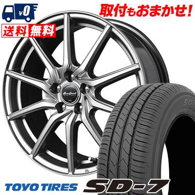 205/65R15 94H TOYO TIRES トーヨー タイヤ SD-7 エスディーセブン EuroSpeed G810 ユーロスピード G810 サマータイヤホイール4本セット