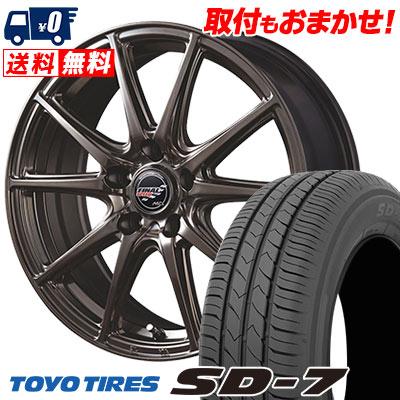 215/45R17 87W TOYO TIRES トーヨー タイヤ SD-7 エスディーセブン FINALSPEED GR-Volt ファイナルスピード GRボルト サマータイヤホイール4本セット