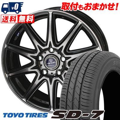 205/60R16 92H TOYO TIRES トーヨー タイヤ SD-7 エスディーセブン SMACK LAVINE スマック ラヴィーネ サマータイヤホイール4本セット