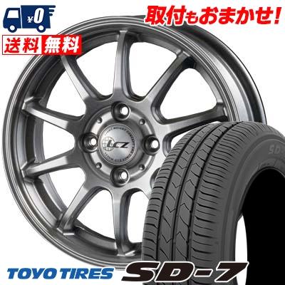 175/65R15 84S TOYO TIRES トーヨー タイヤ SD-7 エスディーセブン LCZ010 LCZ010 サマータイヤホイール4本セット