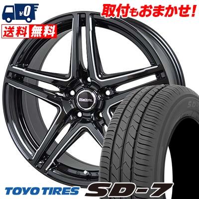 205/60R16 92H TOYO TIRES トーヨー タイヤ SD-7 エスディーセブン Laffite LW-04 ラフィット LW-04 サマータイヤホイール4本セット