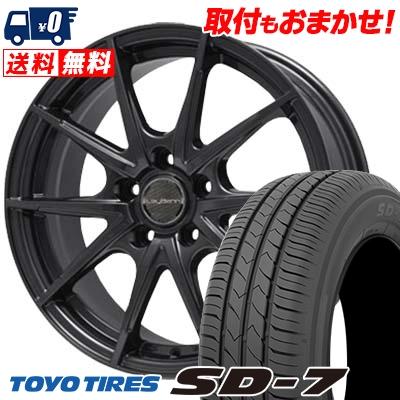 225/45R18 91W TOYO TIRES トーヨー タイヤ SD-7 エスディーセブン LeyBahn WGS レイバーン WGS サマータイヤホイール4本セット