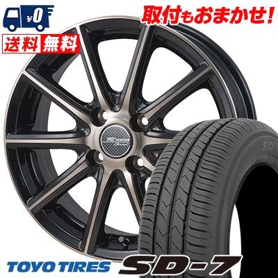 185 70R14 88S TOYO TIRES トーヨー タイヤ SD-7 エスディーセブン MONZA R VERSION Sprint モンツァ Rヴァージョン スプリント サマータイヤホイール4本セット