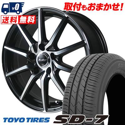 205/55R16 91V TOYO TIRES トーヨー タイヤ SD-7 エスディーセブン EuroSpeed S810 ユーロスピード S810 サマータイヤホイール4本セット