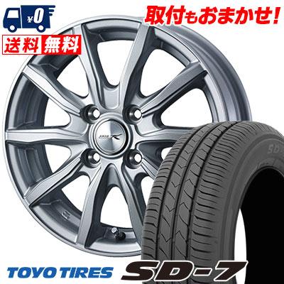 175/65R15 84S TOYO TIRES トーヨー タイヤ SD-7 エスディーセブン JOKER SHAKE ジョーカー シェイク サマータイヤホイール4本セット