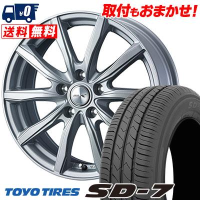 205/65R15 94H TOYO TIRES トーヨー タイヤ SD-7 エスディーセブン JOKER SHAKE ジョーカー シェイク サマータイヤホイール4本セット