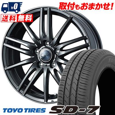 215/50R17 91V TOYO TIRES トーヨー タイヤ SD-7 エスディーセブン Zamik Tito ザミック ティート サマータイヤホイール4本セット