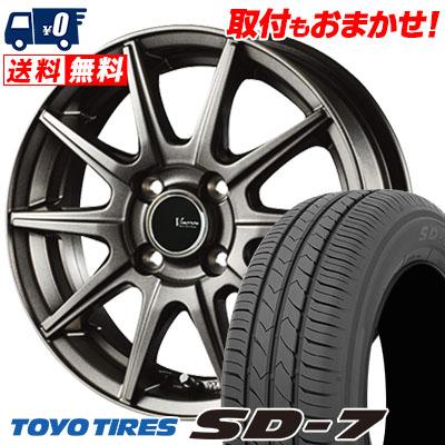 185/65R15 88S TOYO TIRES トーヨー タイヤ SD-7 エスディーセブン V-EMOTION GS10 Vエモーション GS10 サマータイヤホイール4本セット