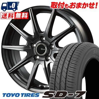 215/50R17 91V TOYO TIRES トーヨー タイヤ SD-7 エスディーセブン V-EMOTION GS10 Vエモーション GS10 サマータイヤホイール4本セット
