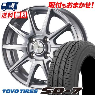 185/65R14 86S TOYO TIRES トーヨー タイヤ SD-7 エスディーセブン V-EMOTION SR10 Vエモーション SR10 サマータイヤホイール4本セット