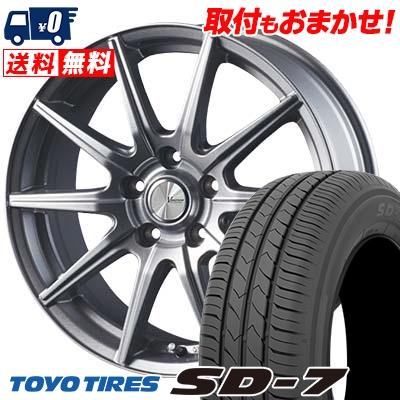 205/60R16 92H TOYO TIRES トーヨー タイヤ SD-7 エスディーセブン V-EMOTION SR10 Vエモーション SR10 サマータイヤホイール4本セット