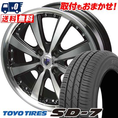 185/60R15 84H TOYO TIRES トーヨー タイヤ SD-7 エスディーセブン STEINER VS-5 シュタイナー VS5 サマータイヤホイール4本セット