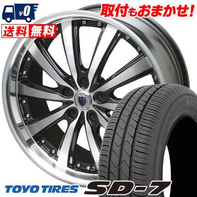 94V SD-7 215/55R17 タイヤ TIRES STEINER サマータイヤホイール4本セット【取付対象】 VS5 TOYO エスディーセブン シュタイナー トーヨー VS-5
