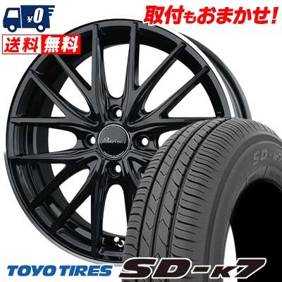 165/55R14 72V TOYO TIRES トーヨー タイヤ SD-K7 エスディーケ-セブン 1445 プレシャス アスト M1 サマータイヤホイール4本セット