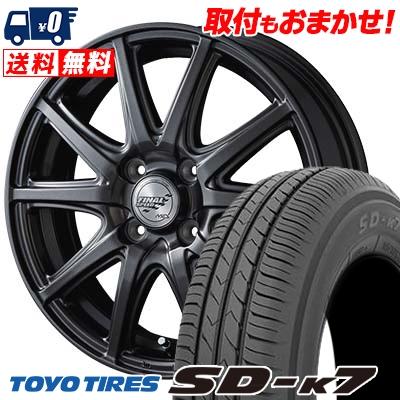 145/70R12 69S TOYO TIRES トーヨー タイヤ SD-K7 エスディーケ-セブン FINALSPEED GR-Γ ファイナルスピード GRガンマ サマータイヤホイール4本セット