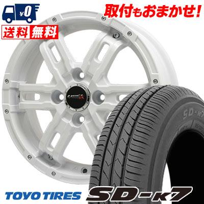 165/55R15 75V TOYO TIRES トーヨー タイヤ SD-K7 エスディーケ-セブン B-MUD Z Bマッド ゼット サマータイヤホイール4本セット