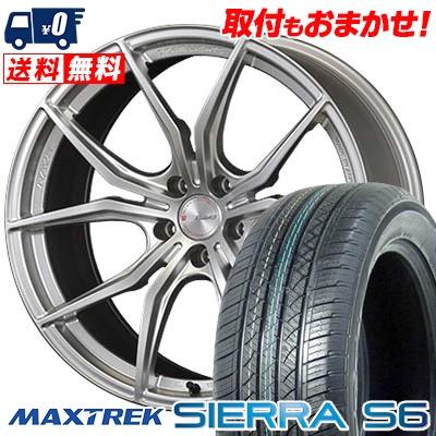 255/35R20 97W XL MAXTREK マックストレック SIERRA S6 シエラ エスロク RAYS GRAMLIGHTS 57FXX レイズ グラムライツ 57FXX サマータイヤホイール4本セット