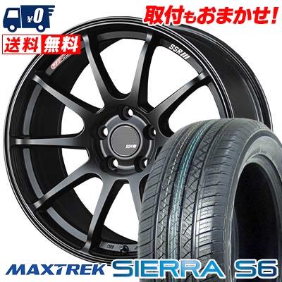 235/50R18 101V XL MAXTREK マックストレック SIERRA S6 シエラ エスロク SSR GTV02 SSR GTV02 サマータイヤホイール4本セット