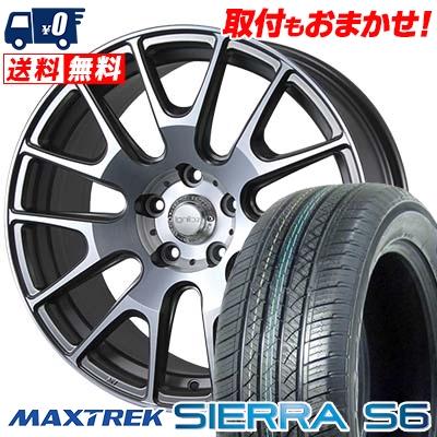 235/60R18 103H MAXTREK マックストレック SIERRA S6 シエラ エスロク IGNITE XTRACK イグナイト エクストラック サマータイヤホイール4本セット