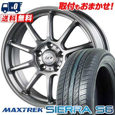 215/70R16 108/106Q MAXTREK マックストレック SIERRA S6 シエラ エスロク LCZ010 LCZ010 サマータイヤホイール4本セット