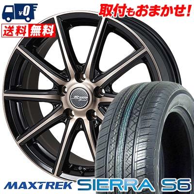 235/50R18 101V XL MAXTREK マックストレック SIERRA S6 シエラ エスロク MONZA R VERSION Sprint モンツァ Rヴァージョン スプリント サマータイヤホイール4本セット