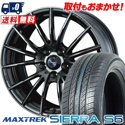 新作モデル 225/65R17 SIERRA 102S MAXTREK マックストレック S6 SIERRA S6 シエラ MAXTREK エスロク WedsSport SA-35R ウェッズスポーツ SA-35R サマータイヤホイール4本セット【取付対象】, プティフラン:89134caa --- agrohub.redlab.site