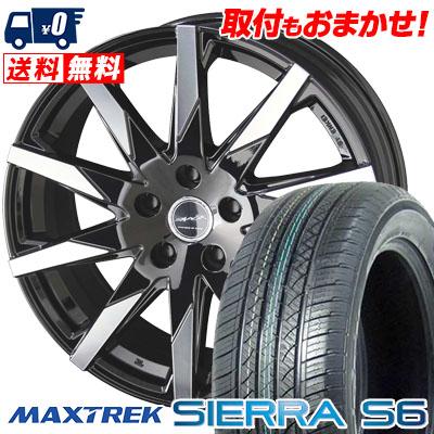 235/50R18 101V XL MAXTREK マックストレック SIERRA S6 シエラ エスロク SMACK SFIDA スマック スフィーダ サマータイヤホイール4本セット