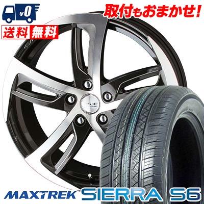 235/50R18 101V XL MAXTREK マックストレック SIERRA S6 シエラ エスロク STEINER SF-C シュタイナー SF-C サマータイヤホイール4本セット