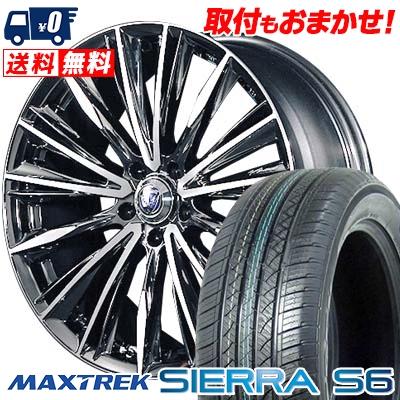 235/60R18 103H MAXTREK マックストレック SIERRA S6 シエラ エスロク RAYS VERSUS STRATAGIA VOUGE レイズ ベルサス ストラテジーア ヴォウジェ サマータイヤホイール4本セット