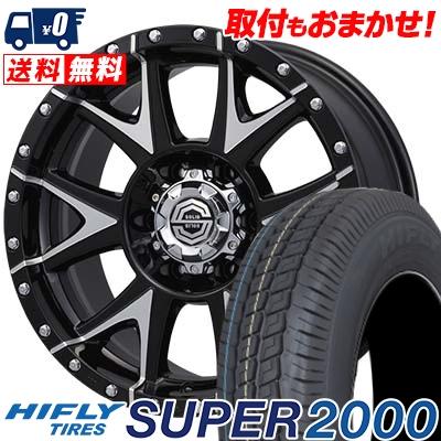 215/65R16C 109/107T HIFLY ハイフライ SUPER2000 スーパー ニセン SOLID RACING Gmetal ソリッドレーシング Gメタル サマータイヤホイール4本セット for 200系ハイエース