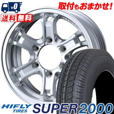 215/65R16C 109/107T HIFLY ハイフライ SUPER2000 スーパー ニセン KEELER FORCE キーラーフォース サマータイヤホイール4本セット for 200系ハイエース