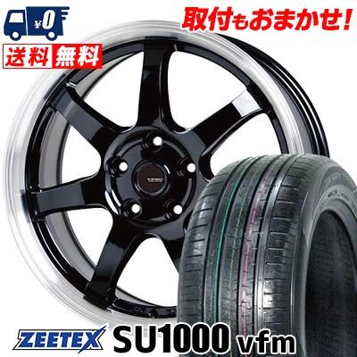 235/60R18 107W XL ZEETEX ジーテックス ZEETEX SU1000 vfm ジーテックス SU1000 vfm G.speed P-03 ジースピード P-03 サマータイヤホイール4本セット