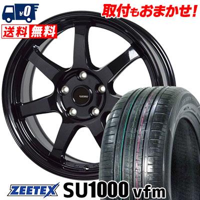 235/60R18 107W XL ZEETEX ジーテックス ZEETEX SU1000 vfm ジーテックス SU1000 vfm G.speed G-03 Gスピード G-03 サマータイヤホイール4本セット
