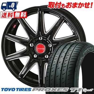 225/55R16 99Y TOYO TIRES トーヨー タイヤ PROXES T1 Sport プロクセス T1スポーツ RIVAZZA CORSE リヴァッツァ コルセ サマータイヤホイール4本セット