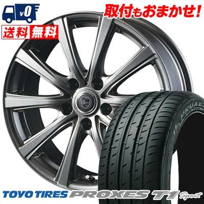 225/55R16 99Y TOYO TIRES トーヨー タイヤ PROXES T1 Sport プロクセス T1スポーツ CLAIRE DG10 クレール DG10 サマータイヤホイール4本セット