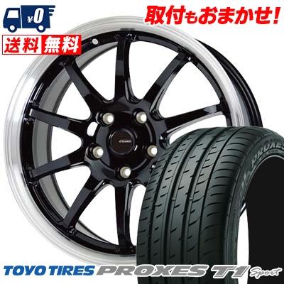 215/55R16 97Y TOYO TIRES トーヨー タイヤ PROXES T1 sport プロクセス T1スポーツ G.speed P-04 ジースピード P-04 サマータイヤホイール4本セット