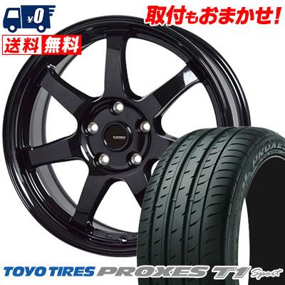 205/55R16 94W TOYO TIRES トーヨー タイヤ PROXES T1 sport プロクセス T1スポーツ G.speed G-03 Gスピード G-03 サマータイヤホイール4本セット