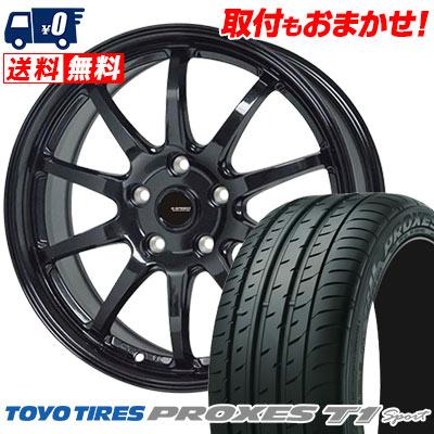 205/55R16 94W TOYO TIRES トーヨー タイヤ PROXES T1 sport プロクセス T1スポーツ G.speed G-04 Gスピード G-04 サマータイヤホイール4本セット
