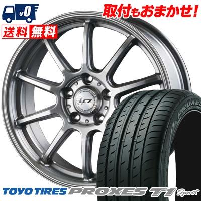 205/55R16 94W TOYO TIRES トーヨー タイヤ PROXES T1 sport プロクセス T1 スポーツ LCZ010 LCZ010 サマータイヤホイール4本セット