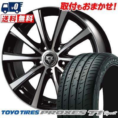 225/55R16 99Y TOYO TIRES トーヨー タイヤ PROXES T1 Sport プロクセス T1スポーツ Razee XV レイジー XV サマータイヤホイール4本セット