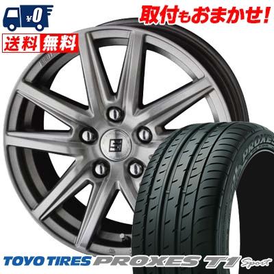 225/55R16 99Y TOYO TIRES トーヨー タイヤ PROXES T1 Sport プロクセス T1スポーツ SEIN SS ザイン エスエス サマータイヤホイール4本セット