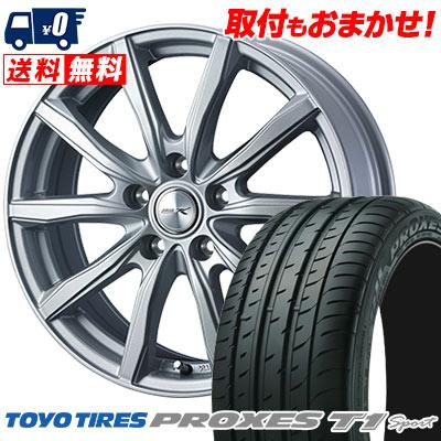215/55R16 97Y TOYO TIRES トーヨー タイヤ PROXES T1 sport プロクセス T1スポーツ JOKER SHAKE ジョーカー シェイク サマータイヤホイール4本セット