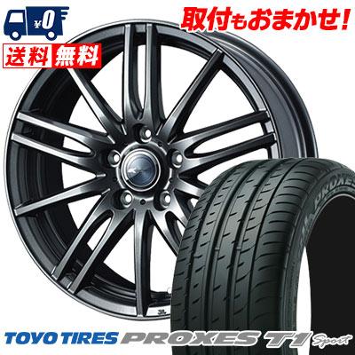 205/55R16 94W TOYO TIRES トーヨー タイヤ PROXES T1 sport プロクセス T1スポーツ Zamik Tito ザミック ティート サマータイヤホイール4本セット