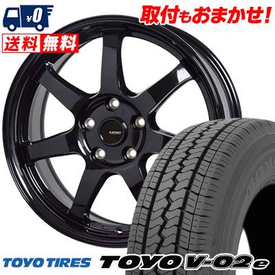 195/70R15 106/104L TOYO TIRES トーヨー タイヤ V02e ブイゼロツーイー G.speed G-03 Gスピード G-03 サマータイヤホイール4本セット