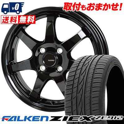 175/65R14 82H FALKEN ファルケン ZIEX ZE912 ジークス ZE912 G.speed G-03 Gスピード G-03 サマータイヤホイール4本セット