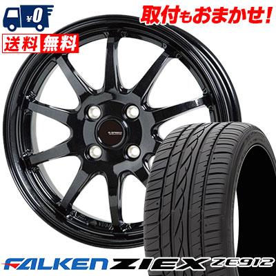 175/65R14 82H FALKEN ファルケン ZIEX ZE912 ジークス ZE912 G.speed G-04 Gスピード G-04 サマータイヤホイール4本セット